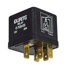24V 12.5 Amp Latching Relay - Changeover 5 Pin, 0-728-04 Durite