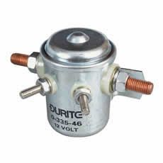 Durite Bulkhead Make and Break Solenoid - 80A Intermittent at 12V -335-46