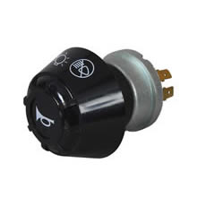 Rotary Off/Side/Dip/Main Headlamp Switch with Horn Push